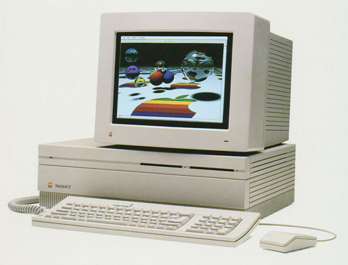 The Macintosh II.